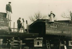 Scheepswerf Poppen 1946