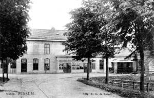 Station Winsum ca 1925
