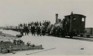 Aanleg Winsum - Zoutkamp 1921