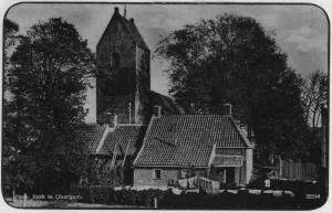 Afb 3 -Obergum achterzijde kerk