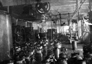 Melkfabriek Heerema omstreeks 1945